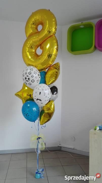 cyfry foliowe Sylwestrowe balony i dekoracje z śląskie