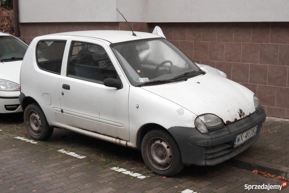 Fiat Seicento VAN mazowieckie Warszawa sprzedam