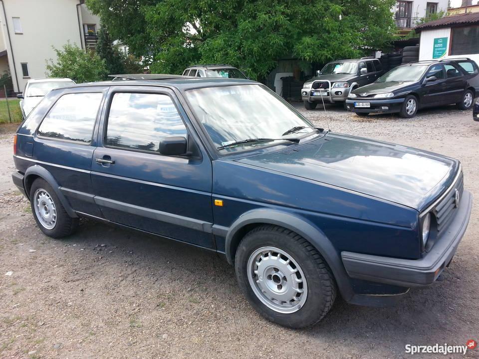 VW GOLF 2 AUTOMAT niebieski Warszawa sprzedam