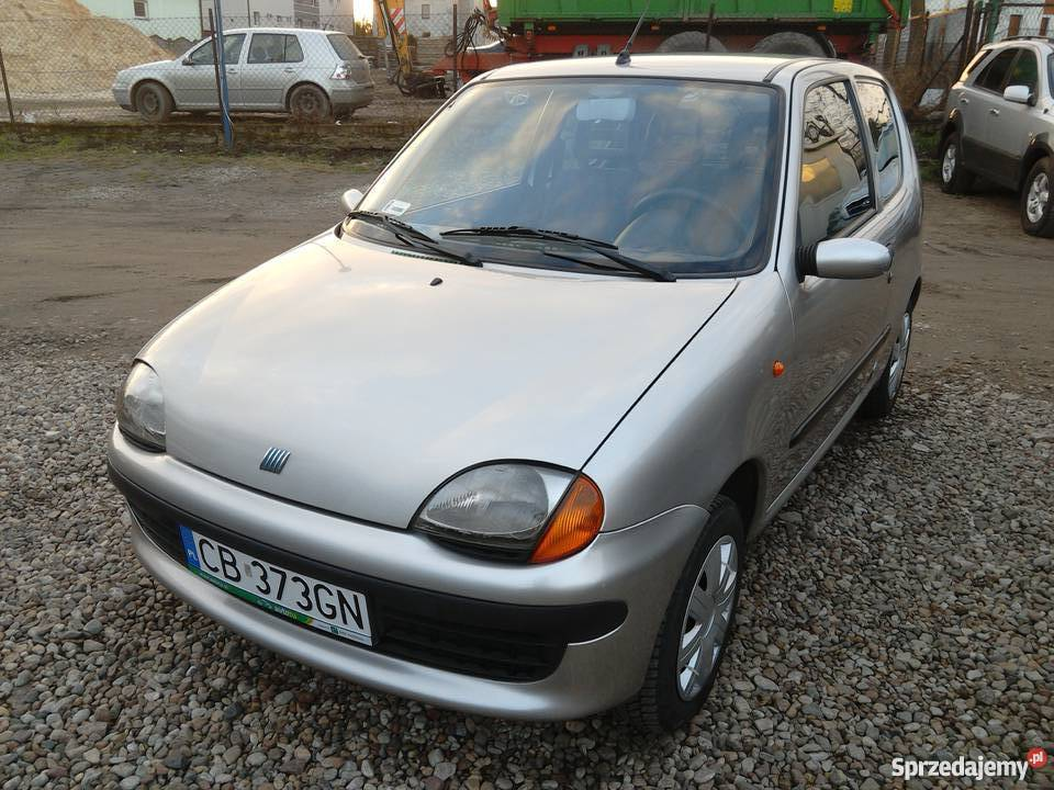Fiat Seicento SX 40KM Żnin sprzedam