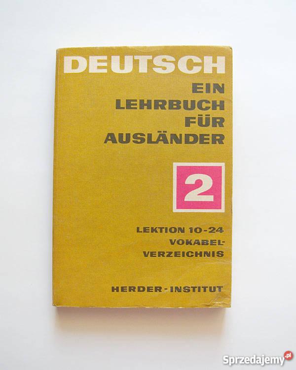Deutsh ein lehrbuch fur auslander 2 lektion 1024 Katowice
