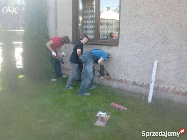 usuwanie wilgoci izolacje budynkow Katowice usługi budowlane