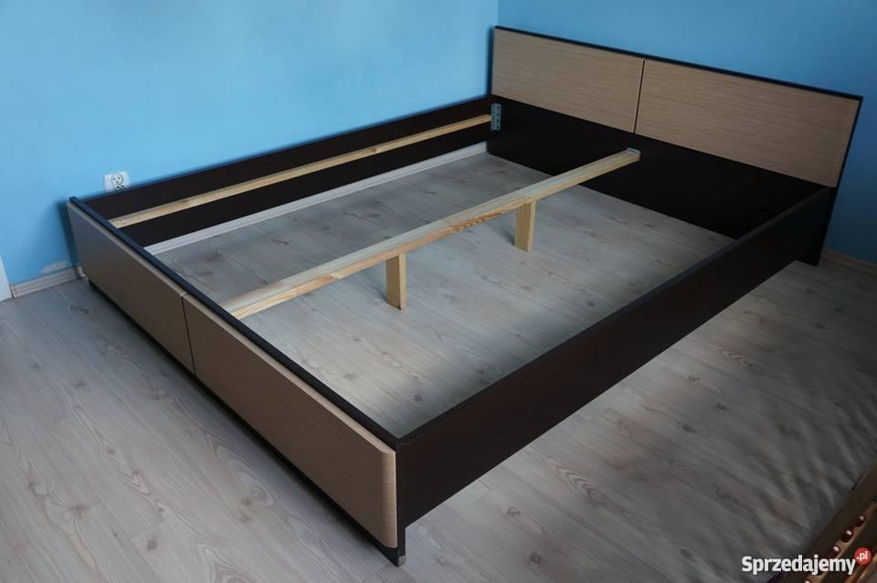 Rama łóżka Black Red White Clipper 160x200