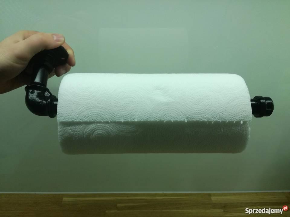 Industrialny Uchwyt Wieszak Na Ręcznik Papierowy Wysyłka