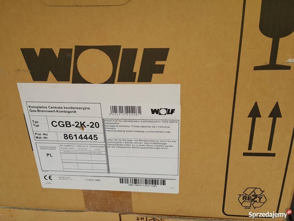 wolf cgb 2k 20 24 piec kocio gazowy kondensacyjny 2 funk. Black Bedroom Furniture Sets. Home Design Ideas