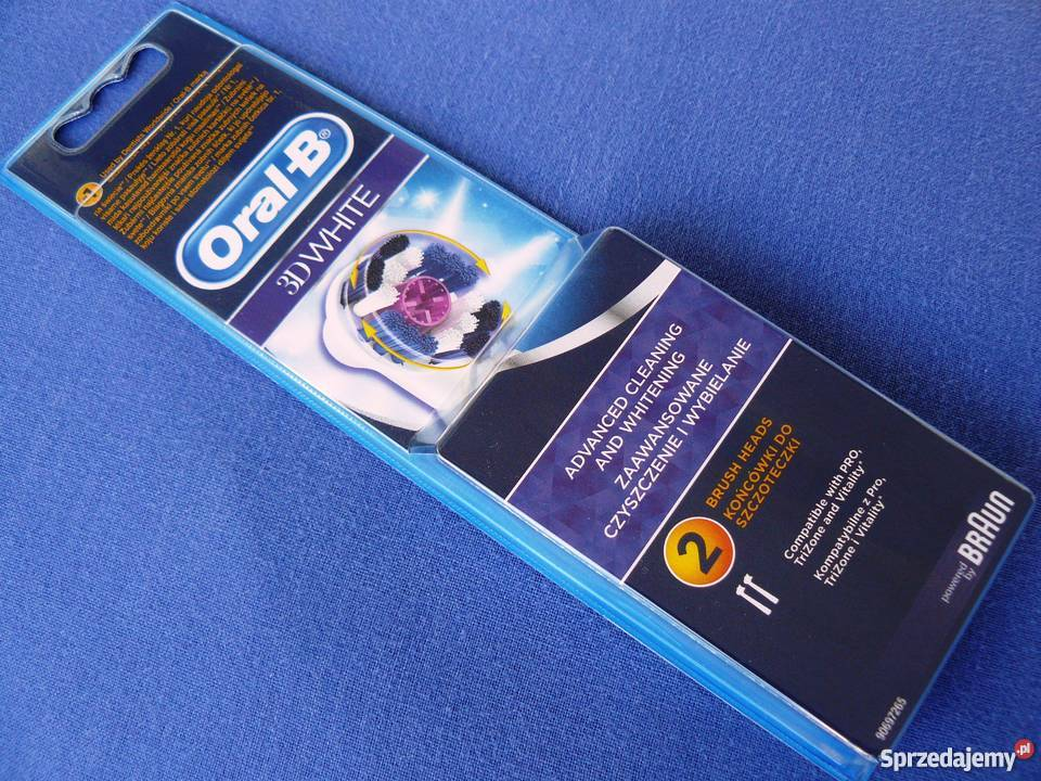 Oral B 3d White Końcówki 2 Sztuki Eb18 2 Piastów Sprzedajemypl