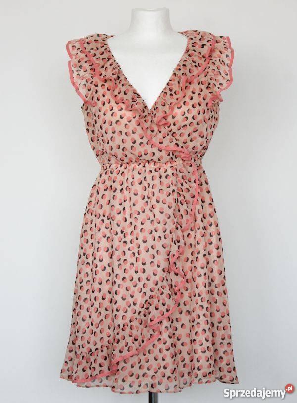 fff7bf1b8e sukienka z falbankami h m - Sprzedajemy.pl