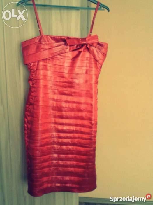 ab916aa916 Elegancka czerwona sukienka Włocławek - Sprzedajemy.pl