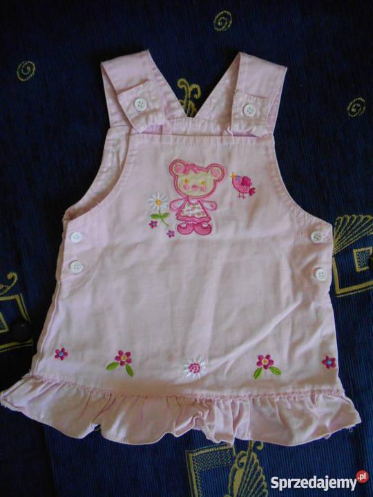 91f63c6dbb Różowa sukienka r. 74 Kórnik - Sprzedajemy.pl