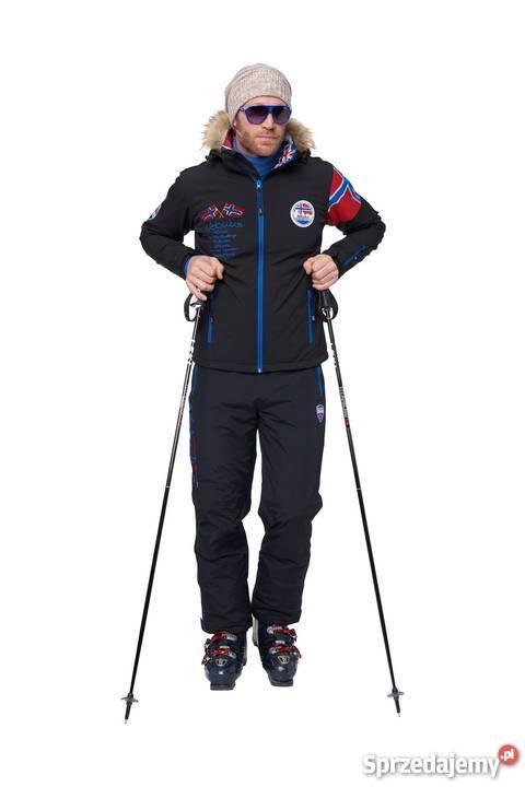 Kurtka narciarska ALPINE czarna męska marki Warszawa