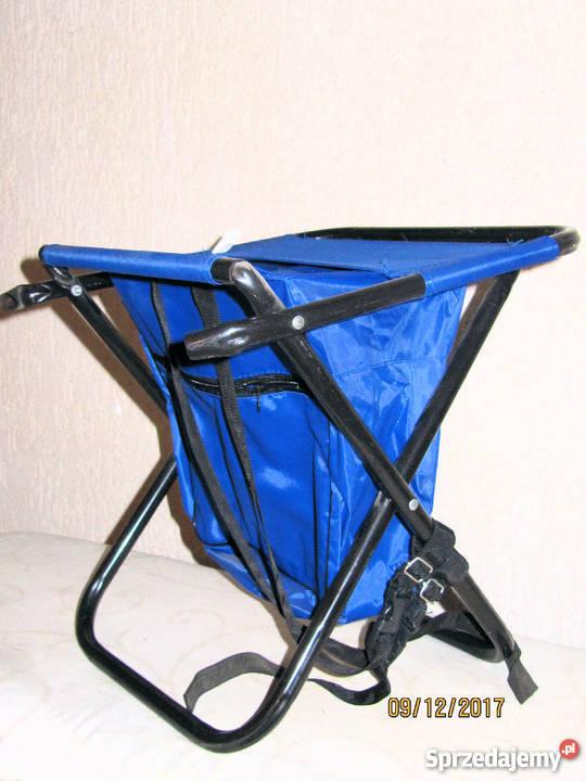 Krzesełko wędkarskie z oparciem i plecakiem Torby, plecaki i walizki