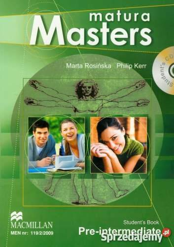 matura masters intermediate odpowiedzi
