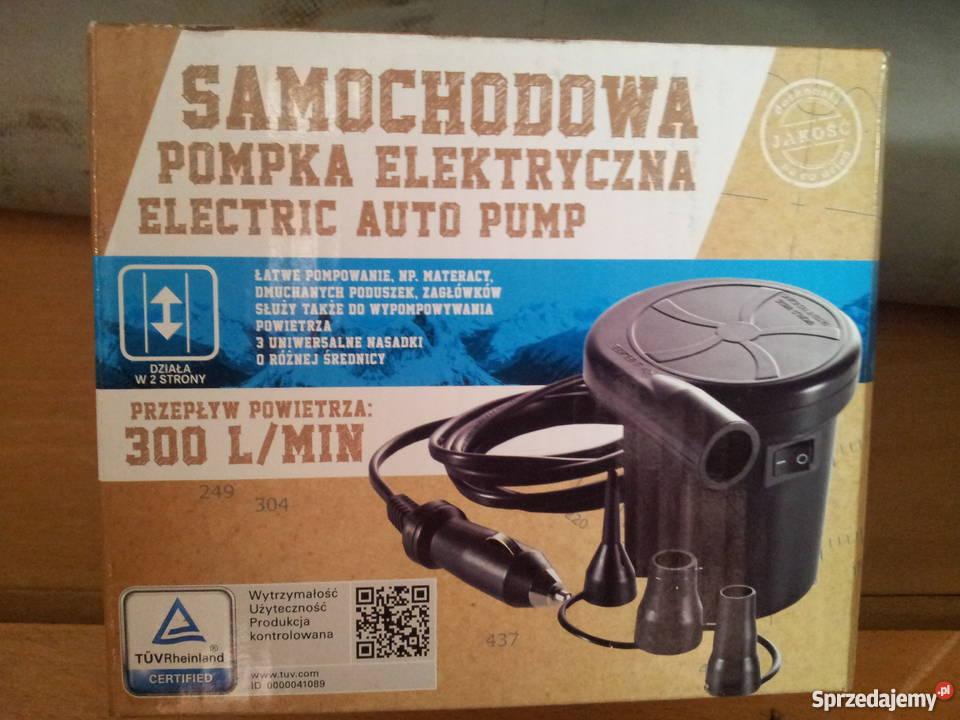 Pompka Elektryczna Samochodowa 12v Materace Pontony łask Sprzedajemy Pl