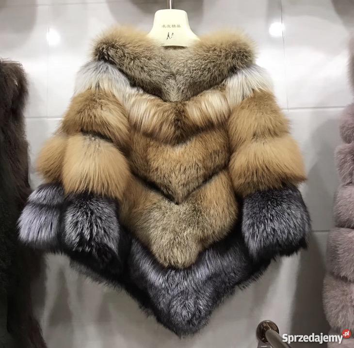 dd6a6b726aac6 Piękne palto sweter z lisa rudego S-XL Zielona Góra - Sprzedajemy.pl