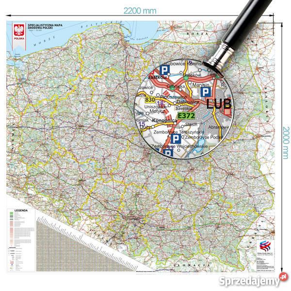 Mapa Polski Odleglosci Sprzedajemy Pl