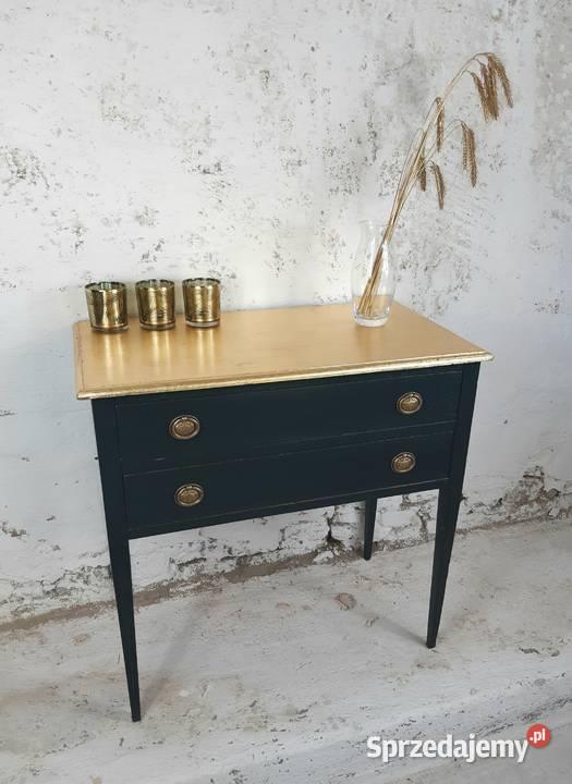 Toaletka drewniana, komoda drewniana, szafka z szufladami