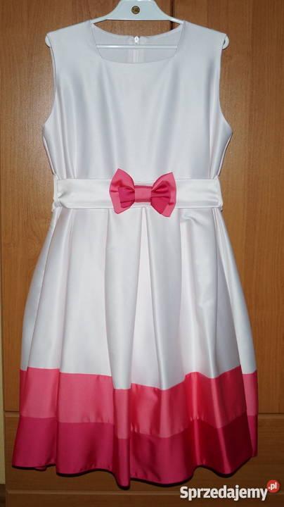 1fab04889d Piękna sukienka suknia bolerko wesele komunia Czerwionka-Leszczyny sprzedam