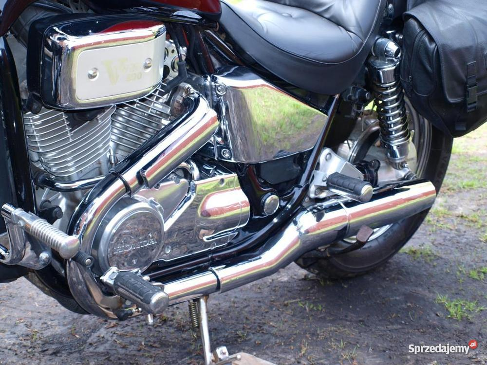 Honda Shadow VT 800 CJ garażowany Hrubieszów sprzedam