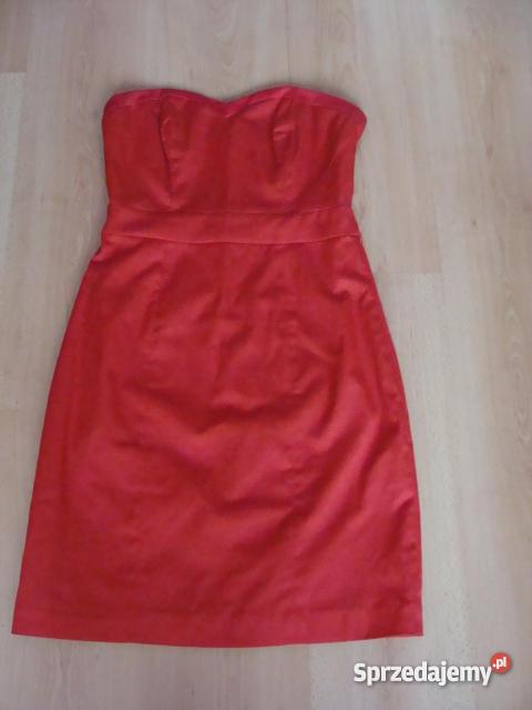 7f39f634ec Boska sukienka H M  rozm.36 czerwona - Sprzedajemy.pl
