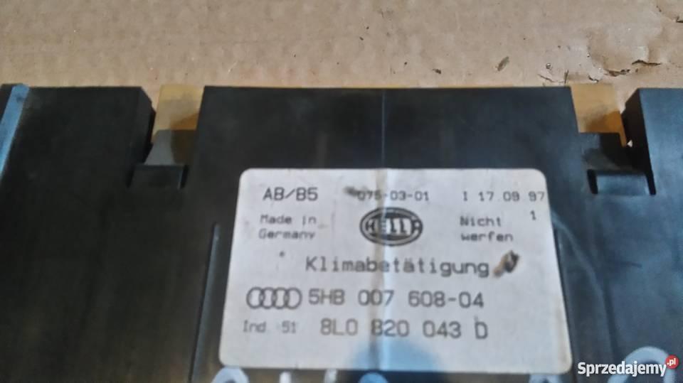 Panel klimatyzacji Audi A3 osobowe Lublin