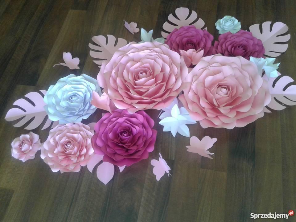 Papierowe Kwiaty Chanel Sprzedajemy Pl