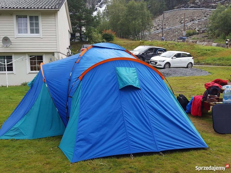 Namiot Quechua 6 osobowy 3 sypialnie Lublin Sprzedajemy.pl