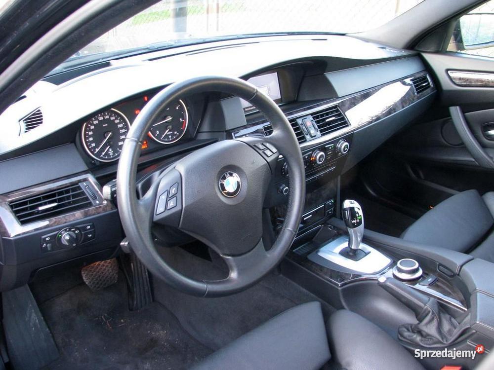 Nieuszkodzony BMW 525 E60 automatyczna skrzynia 3000cm3 Seria 5 kujawsko-pomorskie Włocławek