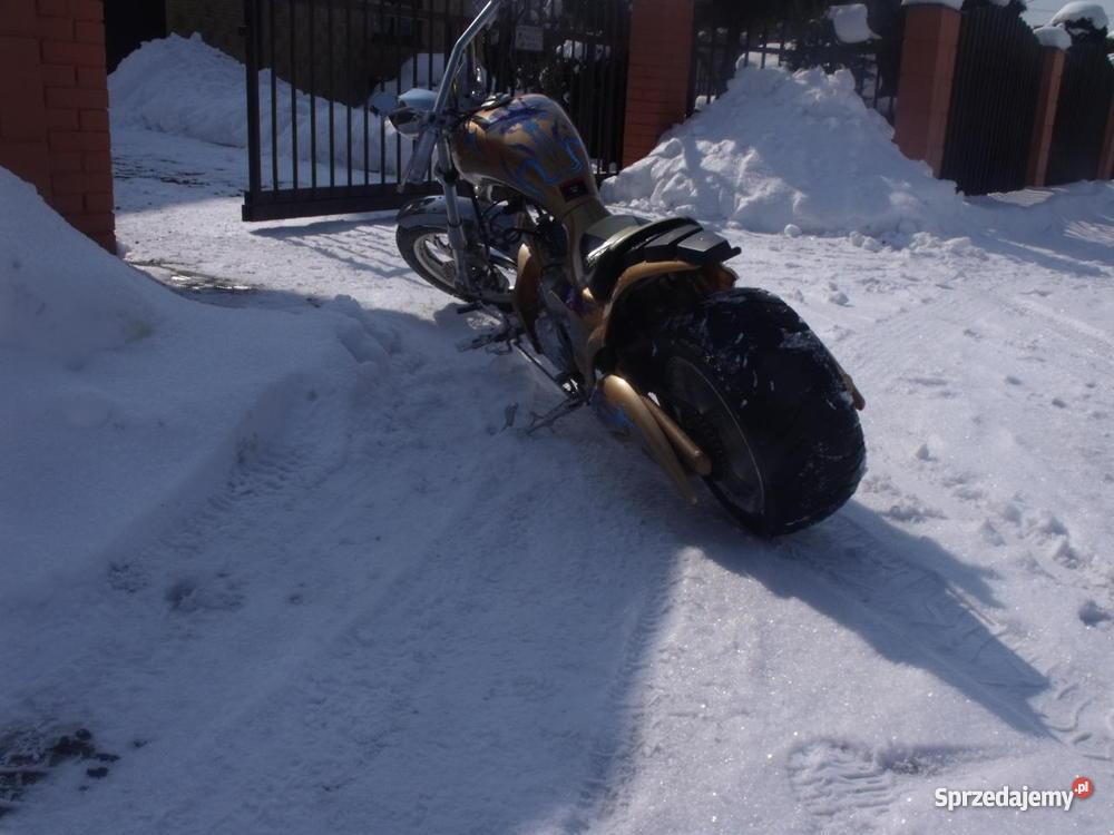 Mini Chopper tuningharleyled ostateczna garażowany Motocykle i skutery Nowy Sącz sprzedam