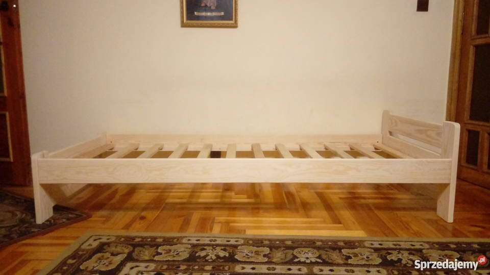 Łóżko sosnowe IWONA I 90 x 200 podkarpackie Sieniawa sprzedam