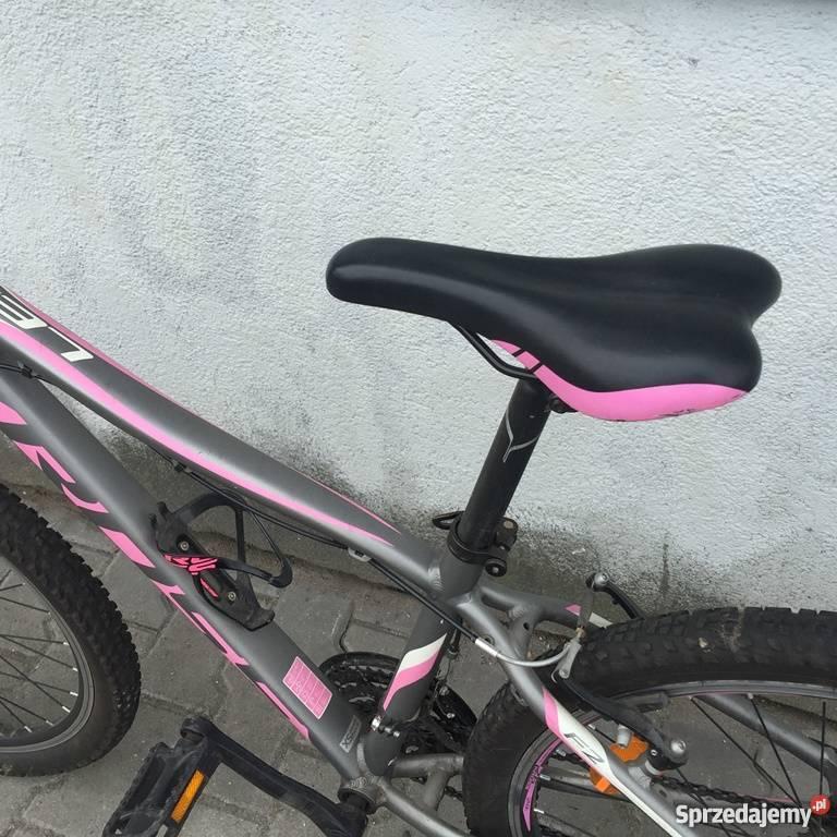 Rower KROSS LEA F2 różowografitowy Warszawa sprzedam