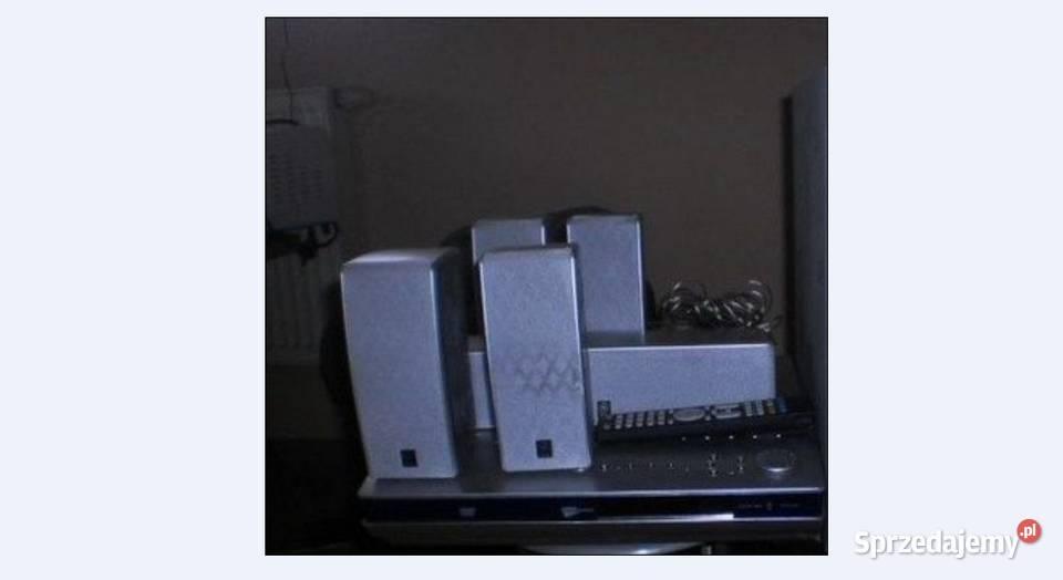 Kino domowe YAMAHA DVR-S150 z głośnikami.+ pilot