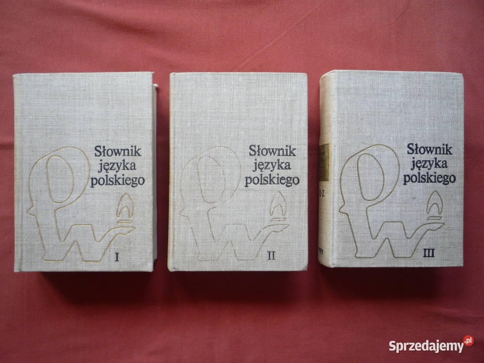 Słownik języka polskiego 1-3 tomy M. Szymczak PWN