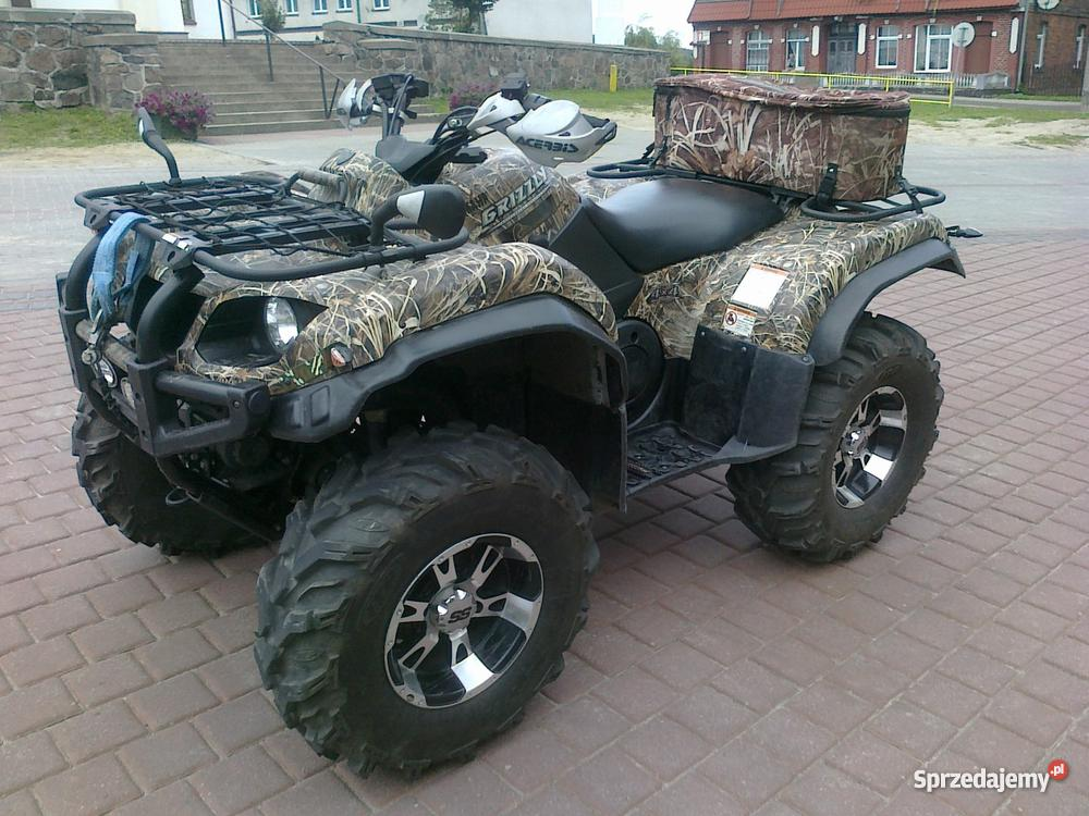 Quad yamaha grizzly 660 2006 camo for Yamaha grizzly 50