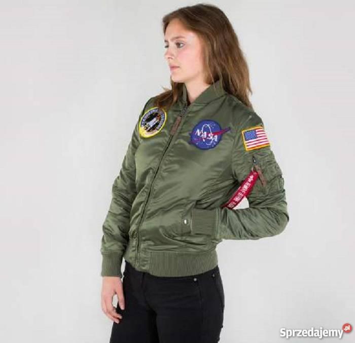 PROMOCJA Alpha Industries Kurtka lotnicza MA 1 VF NASA
