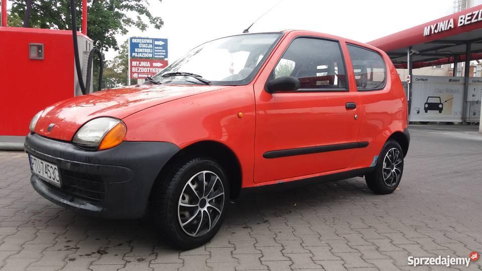 Fiat Seicento zadbany wielkopolskie Września