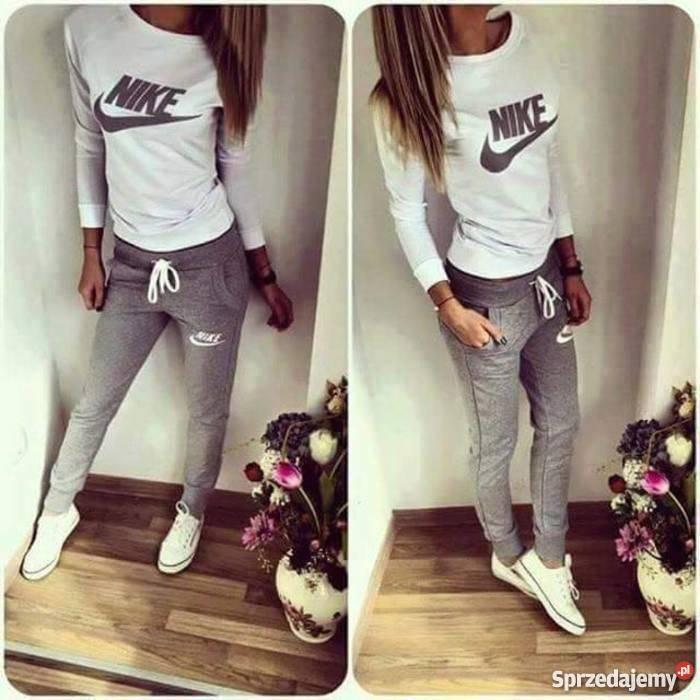 dresy damskie nike bluza i spodnie