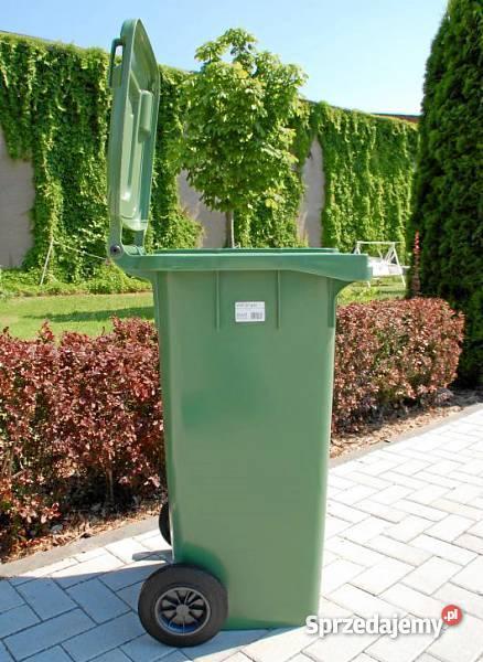 Pojemniki na odpady 120 l kosze kosz pojemnik śm dolnośląskie Wrocław sprzedam