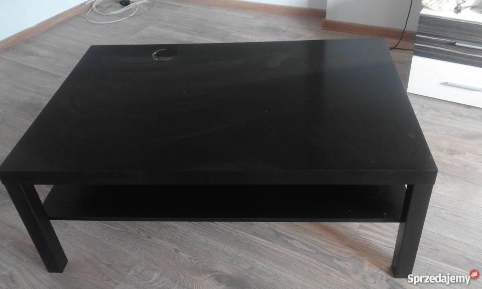 Stolik Ikea Lack Duża ława 118x78 Wenge