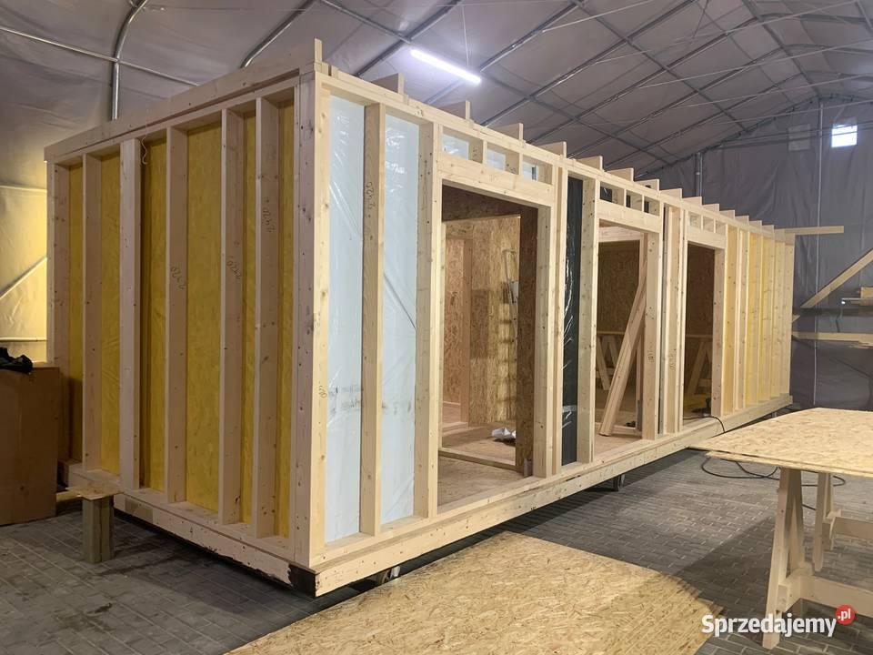 Domek modułowy, konstrukcja domku modułowego