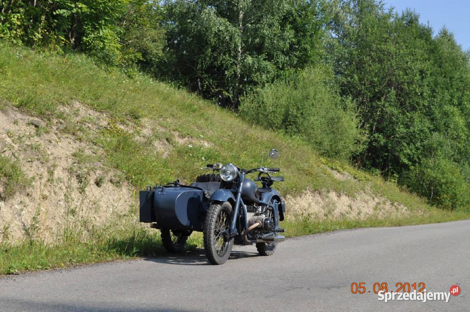 MW / Dniepr z silnikiem BMW R80