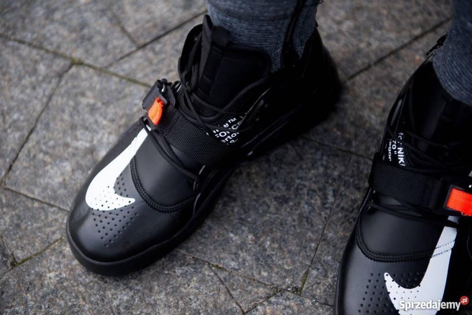 Nike Air Force 270 Triple Black r41 45 Lublin Sprzedajemy.pl