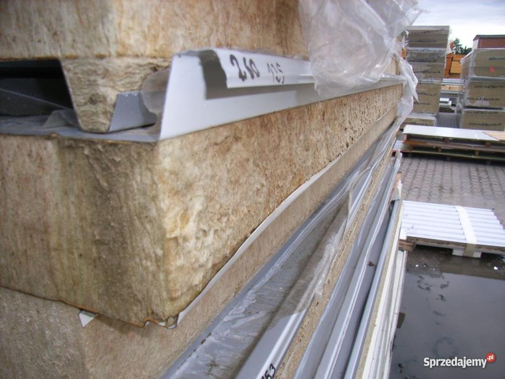 Płyta warstwowa wełna mineralna dach i ściana kujawsko-pomorskie Sadki