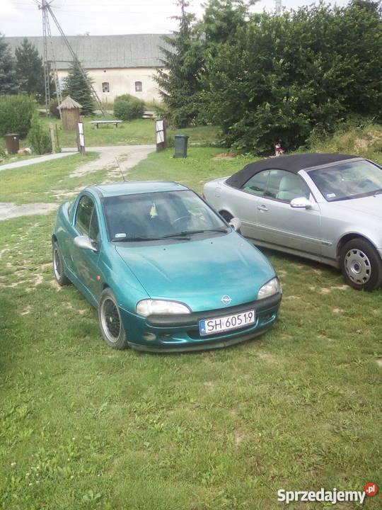 Opel Tigra 14 Rok produkcji 1995 Chrósty