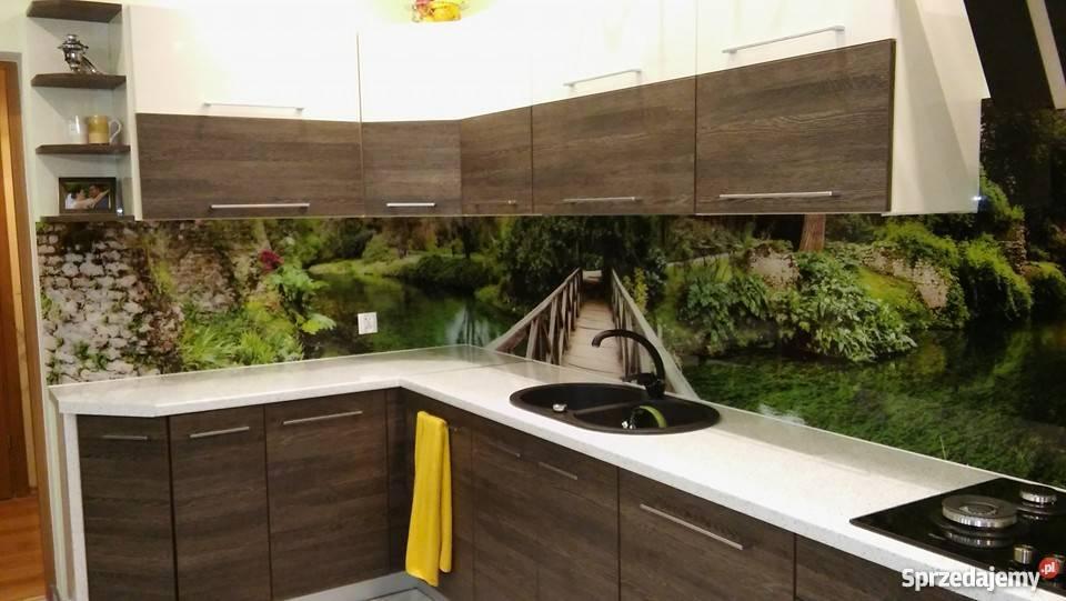 Szkło Do Kuchni Lacobel Grafika Na Szkle Panel Szklan