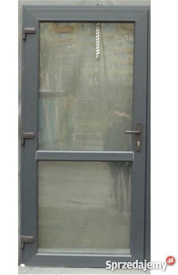 Genialny Drzwi pcv zewnętrzne antracyt Mińsk Mazowiecki - Sprzedajemy.pl DW68