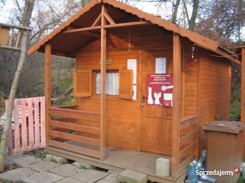 domek drewniany Nysa