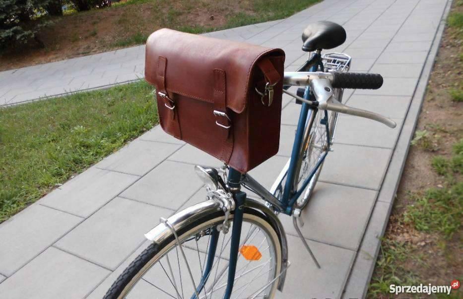 Torba skórzana do roweru to elegancja i szyk Warszawa