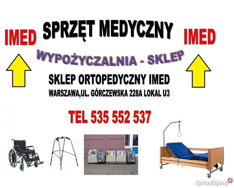 łóżko Szpitalne Elektryczne Wypożyczalnia Sklep Warszawa