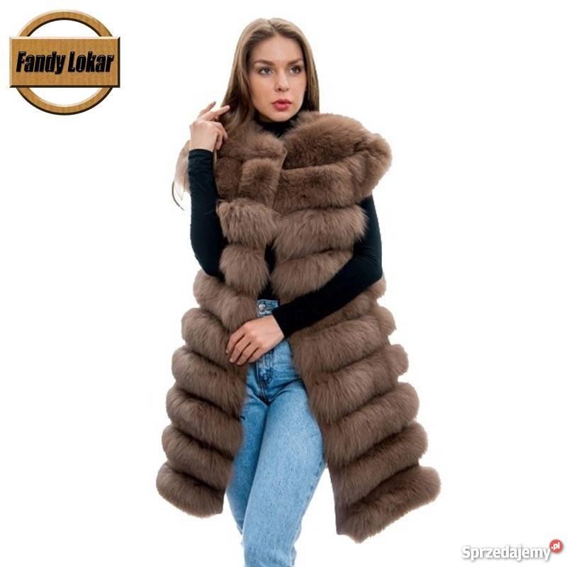 44c4d99e3dc92 Damskie FUTRA kamizelki zimowe dużo nowości Zimowa Kurtki i płaszcze  lubuskie sprzedam