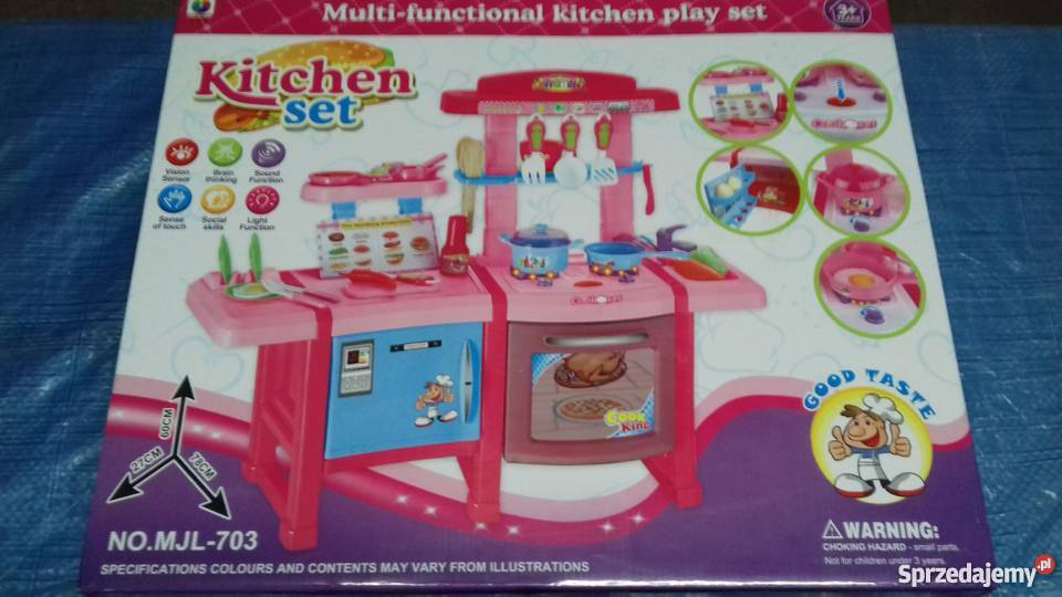 Kitchen Set Kuchnia Dla Dzieci Dobrzyca Sprzedajemy Pl